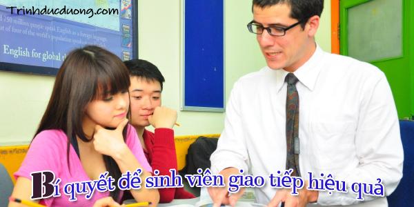 Bí quyết để sinh viên giao tiếp hiệu quả 2