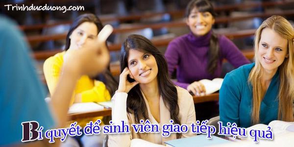 Bí quyết để sinh viên giao tiếp hiệu quả 3