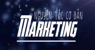nguyên tắc cơ bản của marketing
