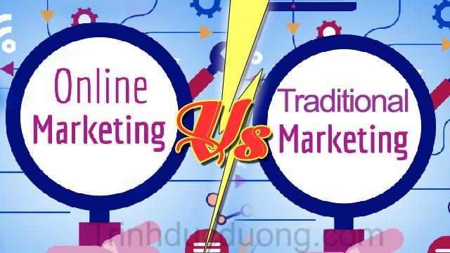 Marketing Online kết hợp Marketing truyền thống