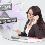 Phong độ làm việc là gì? Những bí quyết giúp bạn tăng phong độ làm việc