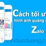 Cách tối ưu hóa hình ảnh quảng cáo trên Zalo hiệu quả nhất
